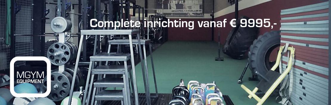 Complete inrichting mgym crossfit en fitness artikelen mgym